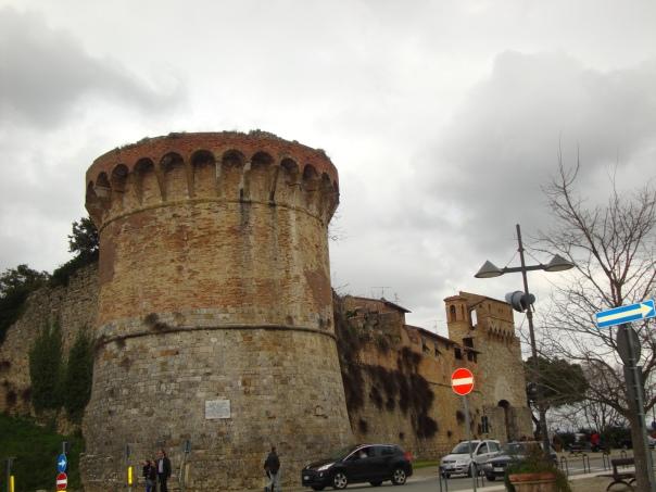 A entrada da cidade