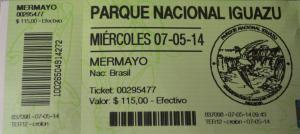 Preço em pesos argentinos